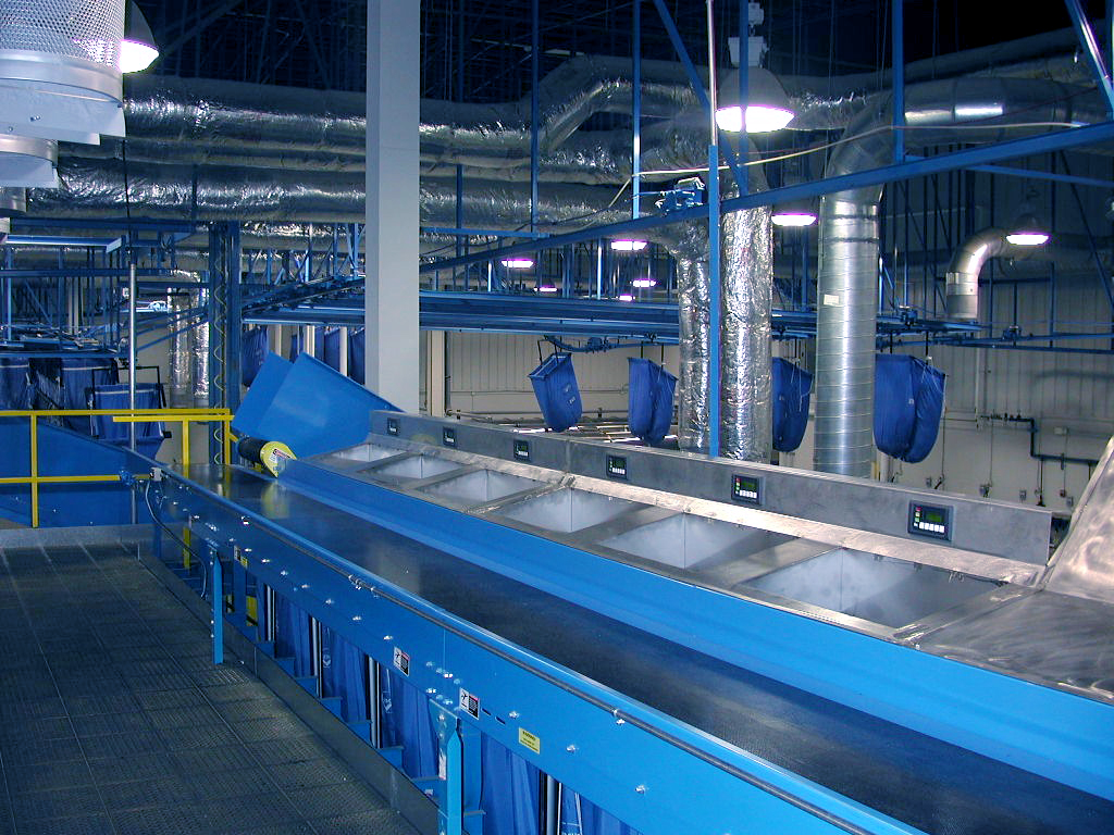Speed Check Conveyor - Soil Sorting Systems: Commercial